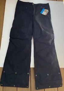 COLUMBIA OMNI-TECH Stand Up pants waterproof  Women's Size L Black WL8053-010
