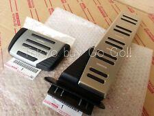 Lexus LS460 LS460L LS600h LS600hL Aluminum Pedal Set NEW Genuine OEM Parts