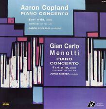 Copland & Menotti - Piano Concerto [New Vinyl] 180 Gram