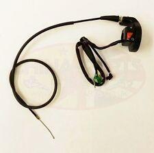 Acelerador vivienda con R/h disyuntores & Cable del acelerador conjunto para Zongshen LZX 125 G