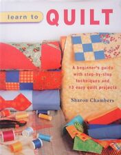 Learn to Quilt by Sharon Chambers (Hardback, 2005)