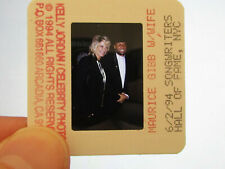 More details for original press promo slide negative - bee gees - maurice gibb & wife - 1994 - b