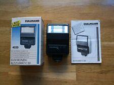 Cullman C20 4020 Electronic Flash Gun, boxed, instructions, working
