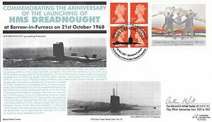 (88392) CLEARANCE GB FDC HMS Dreadnought Barrow Commonwealth Government 1997