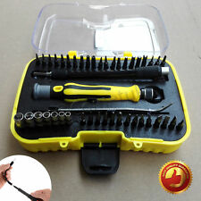 45pc Precision Hex Torx Screwdriver Bit Set Mobile Phone Repair Tool Tweezer Kit
