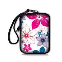 Flower Compact Digital Camera Bag Pouch Mobile Phone Case Coin Purse Mini Bag
