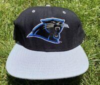 Vintage 90's New Era NFL Football Carolina Panthers Hat Cap Snapback