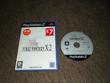 Final Fantasy X-2 (Sony PlayStation 2, 2004) PS2  Boxed with Case but NO MANUAL