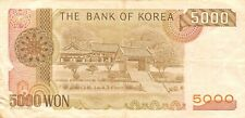 Korea 5000 Won Nd. 1983 P 48 Circulated Banknote Me#K