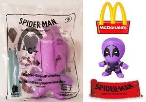 McDonalds Happy Meal Spider-Man Into The Spider Verse Toy #3 Purple Gwen Powler