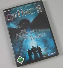 Gothic 2 II Die Nacht des Raben Deutsch Addon Erweiterung  PC mit Handbuch