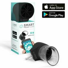 Smart Peak Flow Meter with Free App and Reusable Mouthpiece - CE Medical Device,