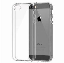 Ultra Delgado Goma Gel TPU Blando Estuche Cubierta clara para iPhone 5/5S Pr De Pantalla Gratis