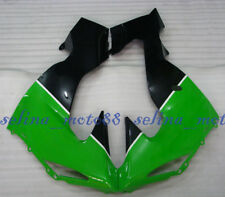 Left Right Side Lower Cowl Fairing For Kawasaki Ninja ZX10R 06 2006 2007 Gre-Blk