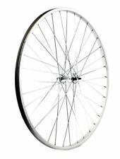 """KX Wheels: Road 27x1 1/4"""" Singlewall Solid Axle Wheel Rim Brake in Silver Front"""