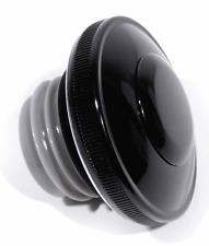 COPERCHIO Serbatoio chiudibile ventilate nero per harley Dyna CHOPPER