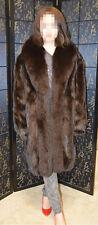 Sale! Christian Dior mink fur coat W/fox fur trim, reversible, Great condition