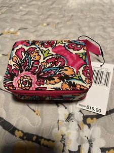 Vera Bradley suburst floral travel pill case NWT