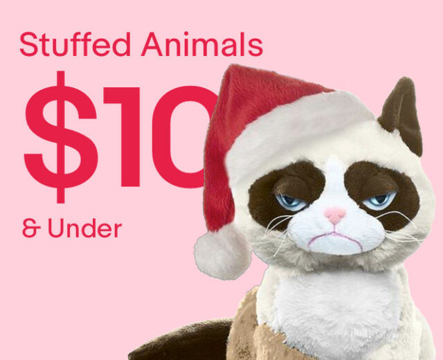 Stuffed Animals $10 & Under