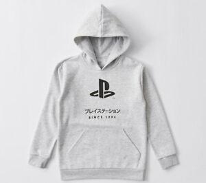 Boys size 9 Grey PLAYSTATION hoodie hoody top long sleeve hooded since 1994 NEW