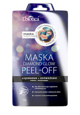 L`BIOTICA LBIOTICA CLEANSING FACE MASK DIAMOND GLOW PEEL-OFF FRIMING + REFRESH