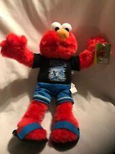 "Elmo Sesame Street Plush Doll 2006 Nanco plush 13"" Tropic Sesame"
