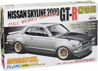 Fujimi ID142 Nissan Skyline 2000 GT-R KPGC10 Hakoska Full-Works Ver. Model Kit