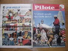 1961 PILOTE 79 pilotorama LES BALEINIERS la grande parade des cow boys