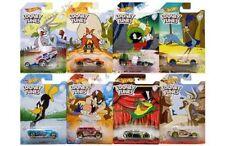 Hot Wheels 2017 Looney Tunes Set of 8 Road Runner Bugs Bunny Daffy Duck etc NISP