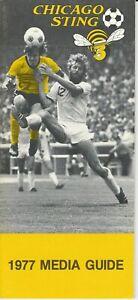 1977 Chicago Sting Media Guide, NASL soccer