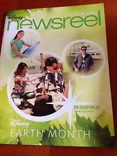 Disney Newsreel Earth Day Month Vol 44 Issue 8 April 18. 2014