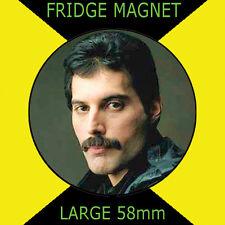 FREDDIE MERCURY QUEEN 58mm Round Fridge Magnet #CD1561