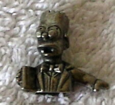 Clue The Simpsons Detective Game pewter part pieces replacement Bart Simpson