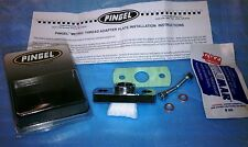 PINGEL A1703C PETCOCK FUEL TAP VALVE ADAPTER PLATE 22mm MALE 44mm
