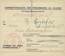 POW Camp 133 Brioude France 1945 German Prisoner of War Kriegsgefangenenpost 37
