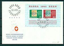 Suisse - Switzerland 1965 - Michel n.812/13 - Feuillet n.20 - NABRA 1965