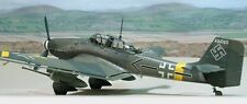 Junkers Ju 87G-2 Stuka Dive Bomber Aircraft Wood Model Free Shipping