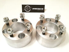 "StreetRays 2.5"" Thick 4x4"" Wheel Spacers EZ Go Golf Carts Club Cars 1/2""x20 PAIR"