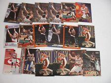 LOT OF 18 ARVYDAS SABONIS CARDS W/ 7 ROOKIE CARDS