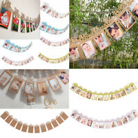 12ft 1st Birthday Party First 12 Months Photo Garland Bunting Banner Decorations
