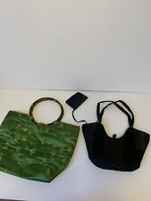 Lot Of 2 Vintage Japanese Bags ( Dkny)