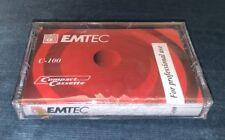 Emtec/Basf C 100 , compact Cassette audio professional stereo tape cassette