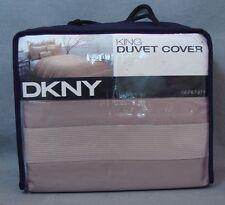 DKNY King Size Duvet Cover Serenity Sand NEW