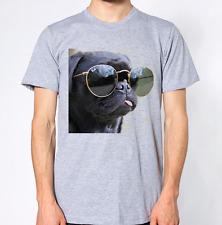 Pug Wearing Sunglasses T-Shirt
