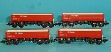 N 4 Minitrix Seitenkippwagen Fad 126, DB Cargo Set 15209
