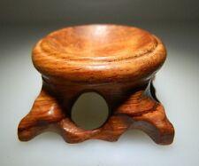 présentoir en bois manufacturé, pour sphère ou oeuf en minéraux(40mm) plateau