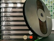 AGFA GEVAERT Sound Recording 7 Inch Reel To Reel Tape. 14 available