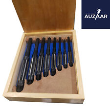 8 Pcs Adjustable Kingpin Hand Reamer H4 H11 1532 To 1 116 Inch Wooden Box