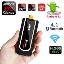 Android7.1 Smart TV Stick Dongle H96Pro MINI Amlogic S912 4K 2G 8G H.265 HDMI2.0
