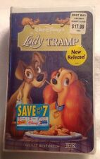Walt Disney's Masterpiece LADY And The TRAMP NEW FACTORY SEALED